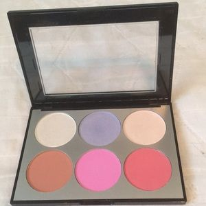 Sephora Holographic Face Cheek Palette Brand New